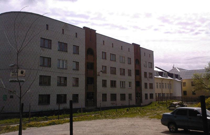 Новое общежитие ПИТа